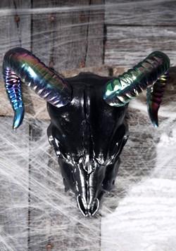 Oil Slick Black Ram 11 Skull