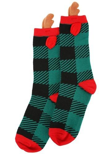 Novelty Reindeer Crew Socks