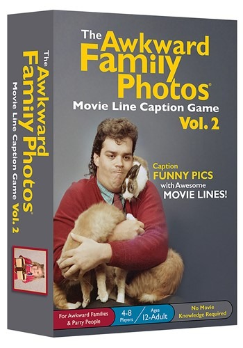 Game The Akward Family Photos Movie Line Captions