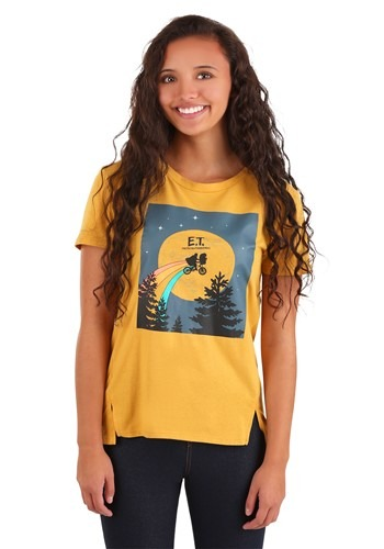 Juniors ET Rainbow Trail Washed Tab Front Tee