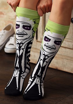 Classic Films Beetlejuice 360 Character Crew Sock Main UPD