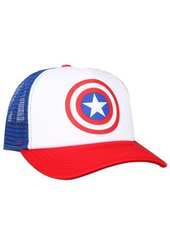 Captain America Trucker Hat