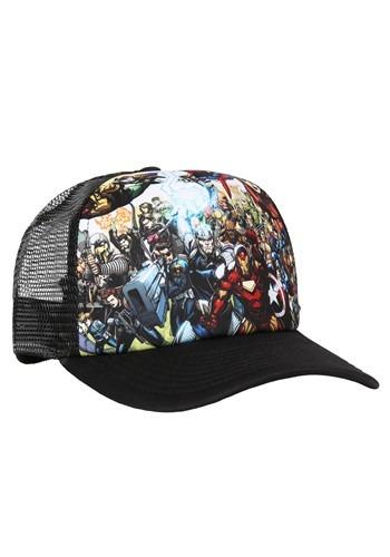 MARVEL Hero Collage Trucker Hat