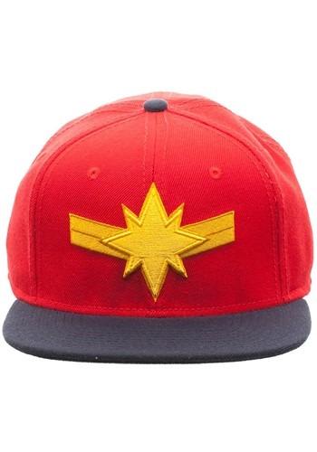 Captain Marvel Snapback Hat