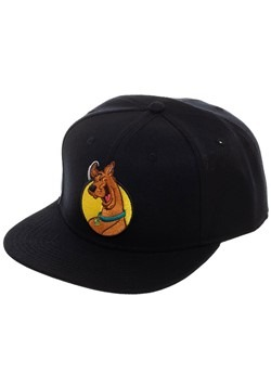 Scooby Doo Black Snapback Hat for Adults