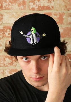 Beetlejuice Black Snapback Hat Update