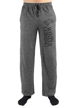 House Stark Winter is Coming Gray Sleep Lounge Pants