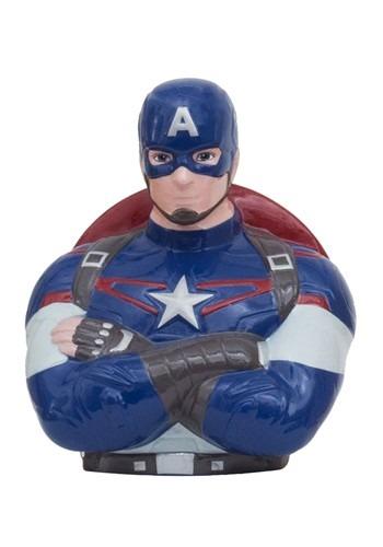 Marvel Captain America Ceramic Bank