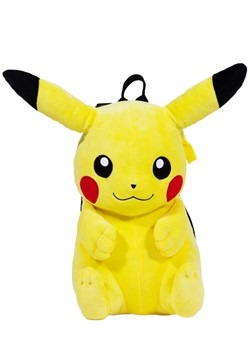 Pickachu Plush Backpack