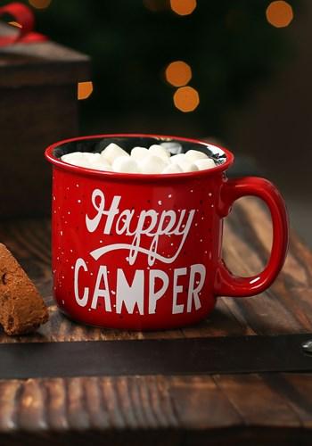 Ceramic Camp Mug Happy Camper main
