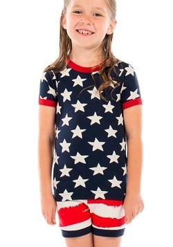 Kids Star & Stripes PJ Short Set