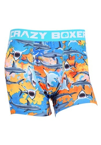 Crazy Boxers Shark Week All Over Print Boxer Brief