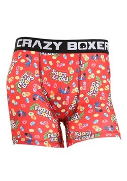 Crazy Boxers Froot Loops All Over Print Mens Boxer