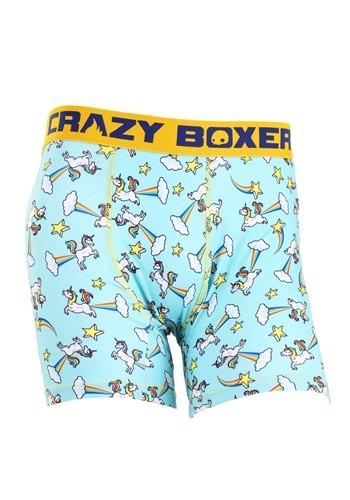 Crazy Boxers Farting Unicorn Mens Boxers Briefs
