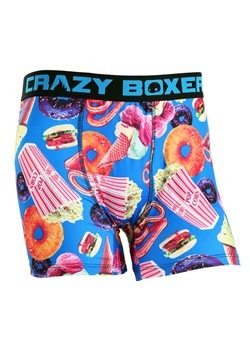 Crazy Boxers Summer Fair Foods Men's Boxer Briefs