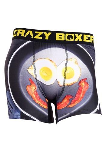 Crazy Boxers Wakey Wakey Eggs n Bacon Men's Boxer