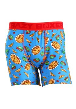 Crazy Boxers TMNT Pizza Men's Boxer Briefs