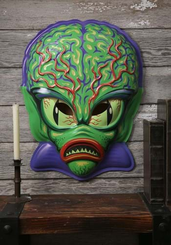 Space Invader Vacuform Mask 23 Inch Wall Hanger Decor