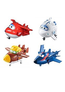 "Super Wings 5"" Character 4 pack"