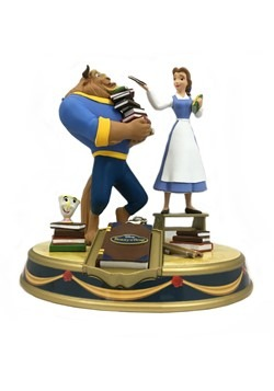 Disney Belle and Beast Mini Finder Keypers Statue