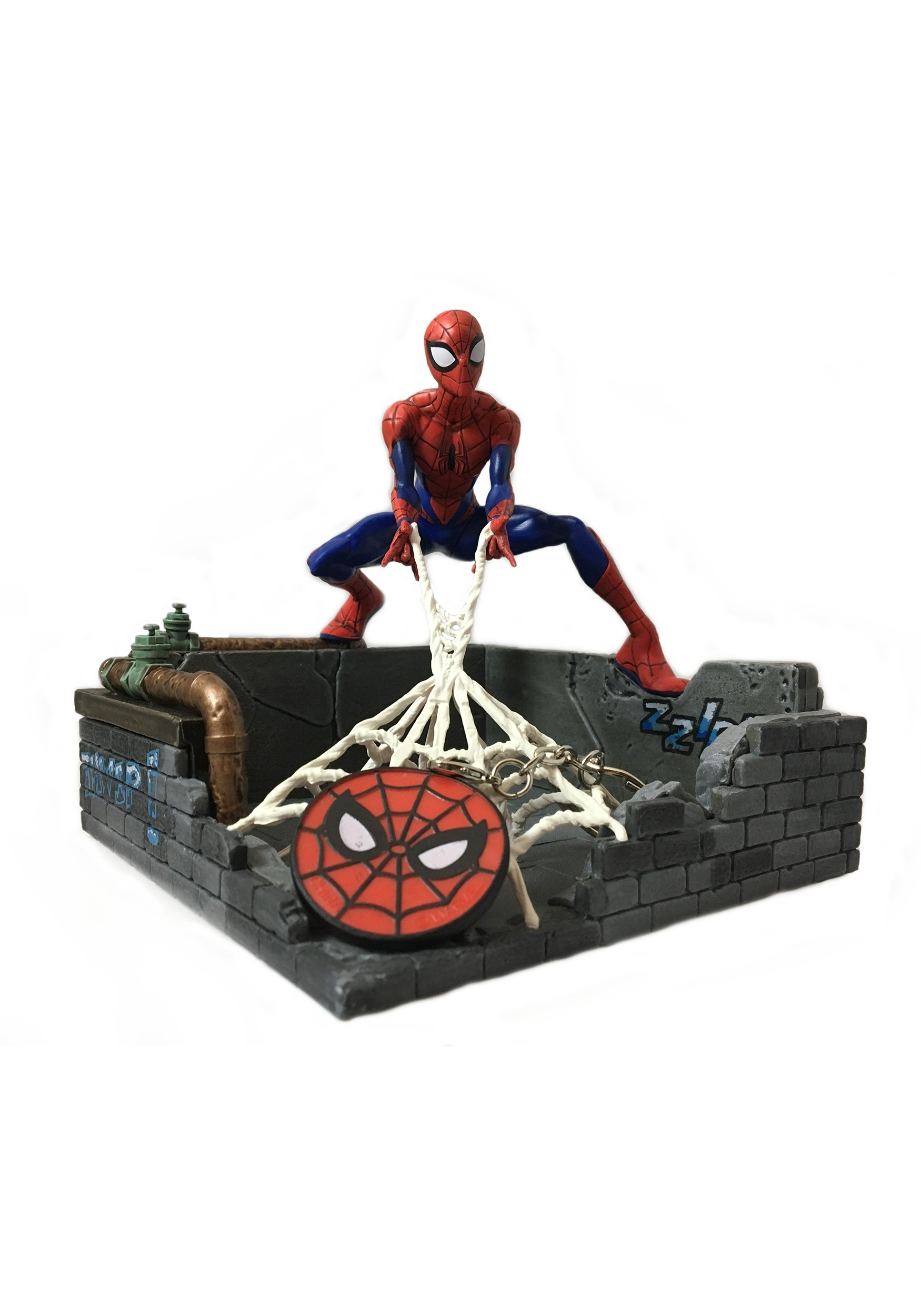 SpiderMan_Finders_Keyper_Statue