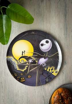 Nightmare Before Christmas 10in Plastic Dinner Pla