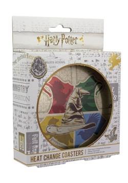 Harry Potter Sorting Hat Heat Change Coasters