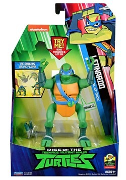 TMNT Leonardo Backflip Attack Action Figure