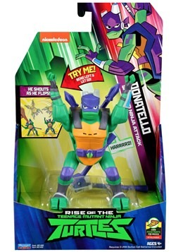 TMNT Donatello Sideflip Attack Action Figure