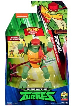 TMNT Raphael Cartwheel Attack Action Figure