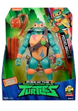 "TMNT Michelangelo 10"" Giant Action Figure"