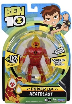 Ben 10 Power Up Heatblast Figure