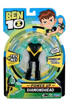 Ben 10 Power Up Diamondhead Figure