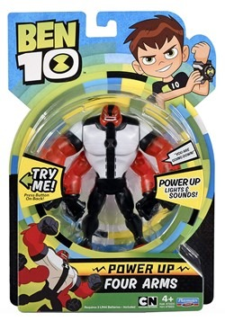 Ben 10 Power Up Four Arms Figure