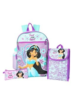 Aladdin Jasmin 5 in 1 Backpack Set