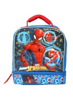 Spiderman Drop Bottom Lunch Kit