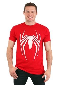 Men's Spider-Man Video Game Logo Red T-Shirt