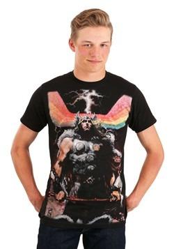 Men's Rainbow Thor Black T-Shirt