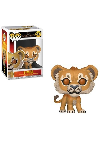 Pop! Disney: The Lion King (Live Action) - Simba