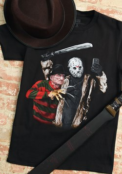 Men's Jason Freddy Selfie Black T-Shirt Upd