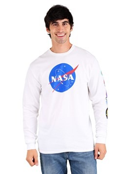 Mens NASA Long Sleeve T-Shirt