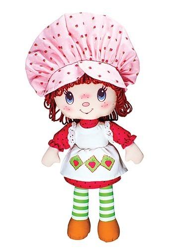 Classic 1980s Strawberry Shortcake Stuffed Rag Doll