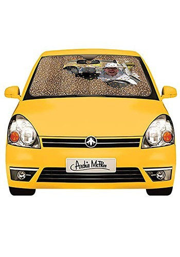 Car Full of Bees Auto Sunshade