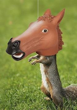 Horse Head Squirrel Feeder Alt 1