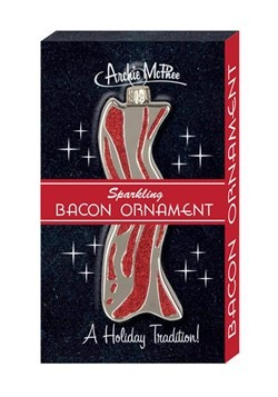 Archie McPhee Sparkling Bacon Ornament