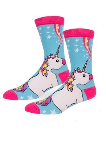 Unicorn Womens Crew Socks