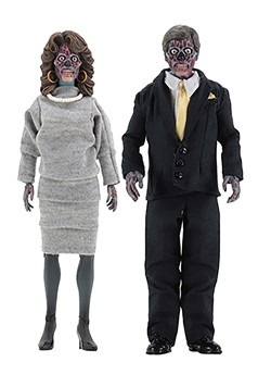 They Live 8 Clothed Action Figure 2 Pack