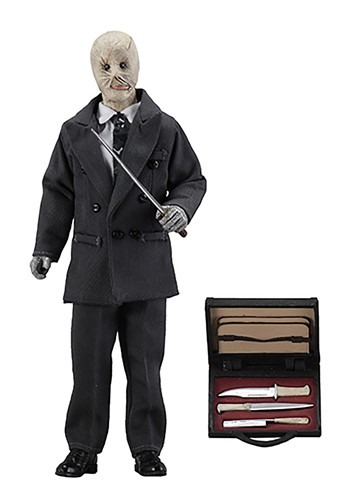 """Nightbreed Decker 8"""" Clothed Figure"""