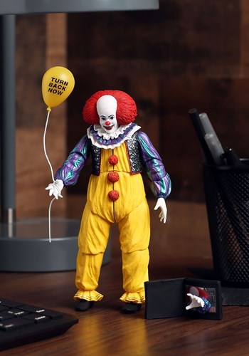 "IT 1990 Pennywise Ultimate Version 2 7"" Scale Figure Update"