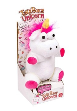 Talkback Unicorn Plush